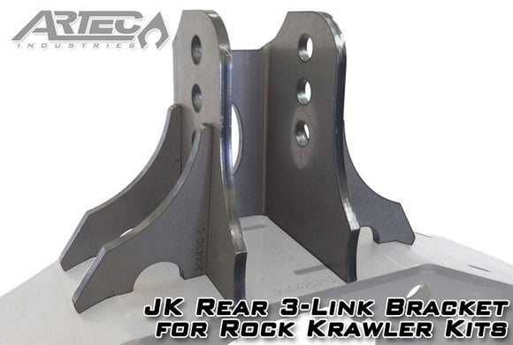 JK Rear 3-Link Bracket For Rock Krawler Kits
