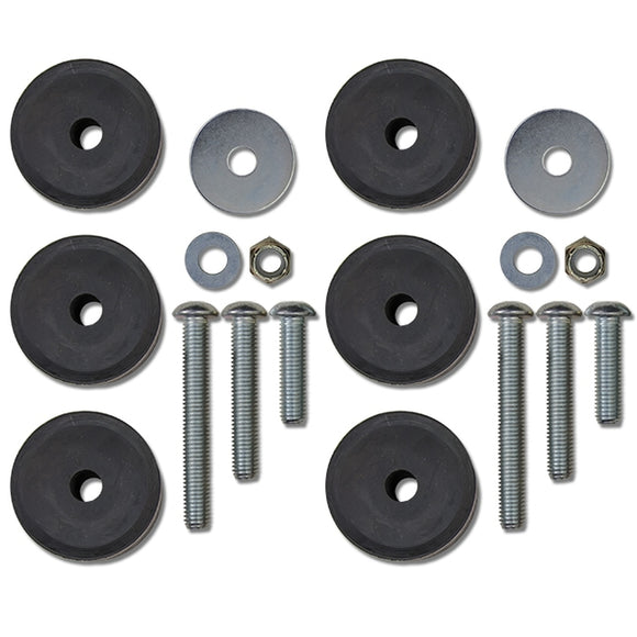 Rock Krawler Front 1-3 Inch Stackable Bump Stop Kit JK / JKU  and Front and Rear For TJ / TJU