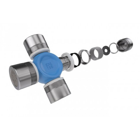Spicer SPL30-7166XC Universal Joint Inside Snap Ring 1350 Series Front Axle Shaft Universal Joint Non-Greaseable Blue Coating