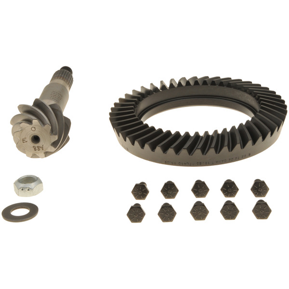Dana 44 Ring and Pinion Low Pinion 4.89 Thin Uses 3.92 and Up Carrier