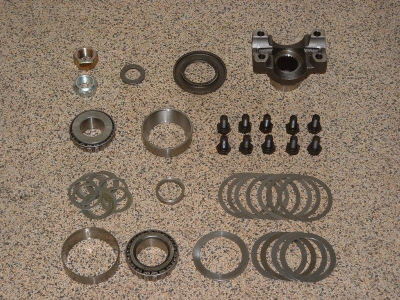 Jana K4 Conversion Kit Dana 44 Low Pinion 1350 Yoke