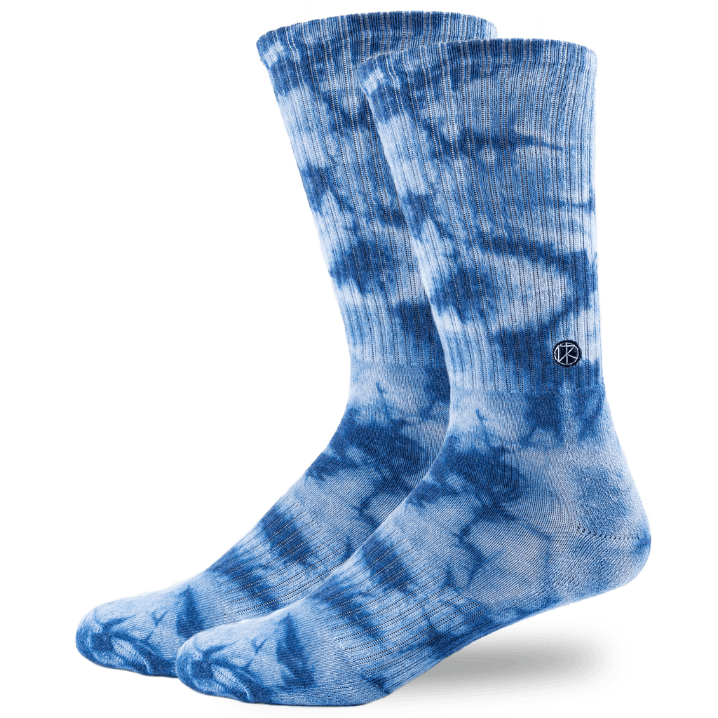 Arvin Goods x Kassia+Surf Indigo Tie Dye - Crew Sock <span>NEW PARTNERSHIP</span>