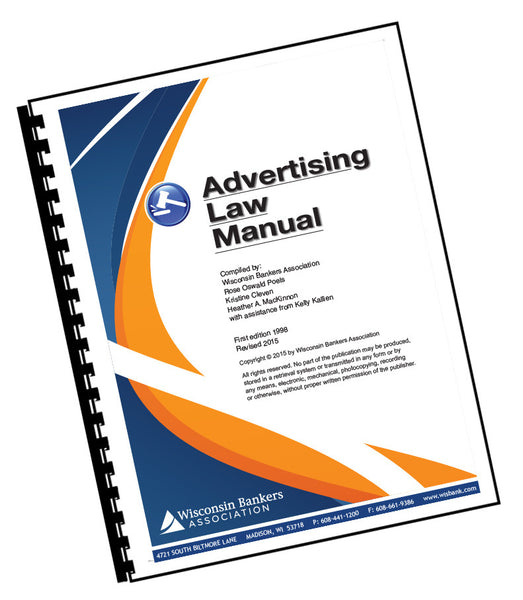 Advertising Law Manual