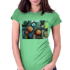 A Gathering of Planets Womens Fitted T-Shirt