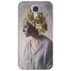 'A Girl with Blossoms' Phone Case