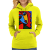 ABSTRACT  MISS TULIP Womens Hoodie