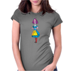 Alice in Wonderland - Ask Alice - Psychedelic Alice - NEW Womens Fitted T-Shirt