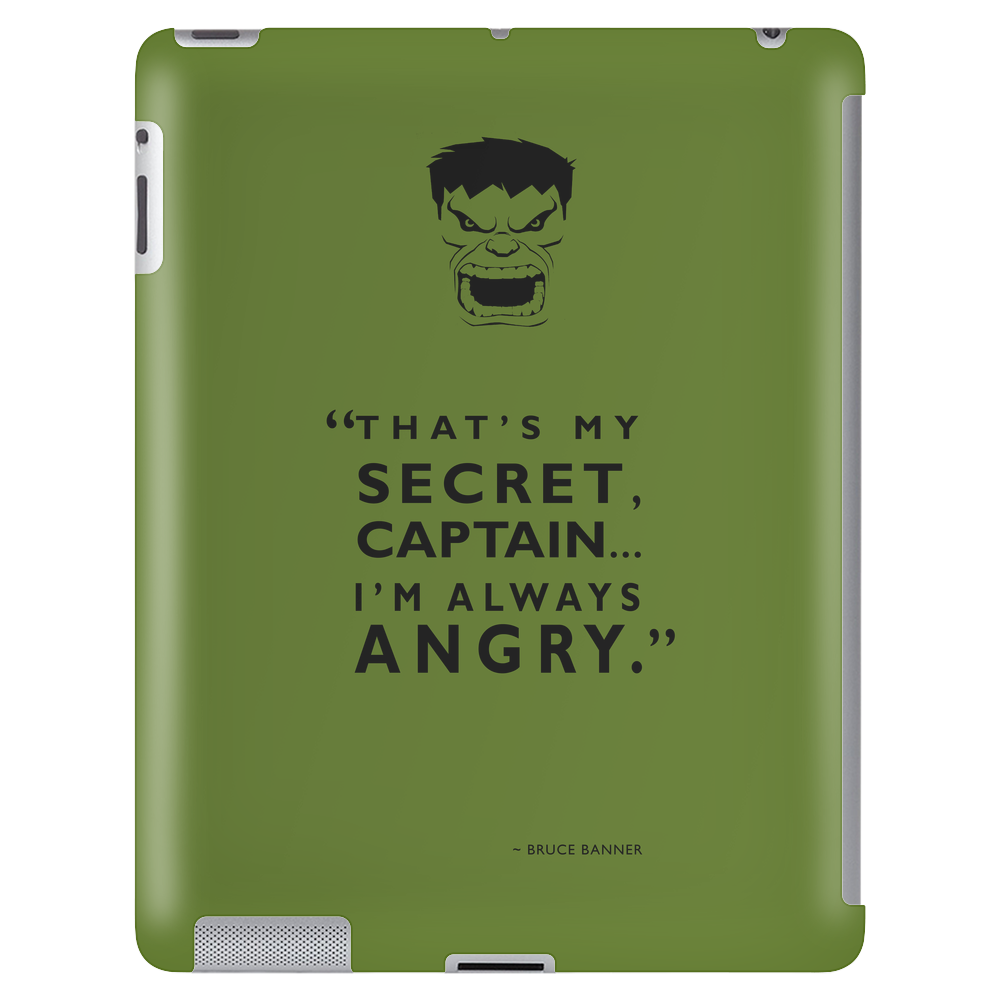 Always Angry Tablet (vertical)