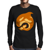 amber whale Mens Long Sleeve T-Shirt