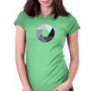 Aperture bw Womens Fitted T-Shirt