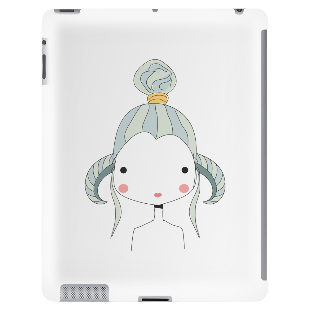 Aries Girl Tablet (vertical)