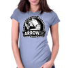 Arrow To The Knee Womens Fitted T-Shirt