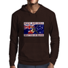 Australian Rock and Roll, Written In Blood Mens Hoodie