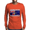 Australian Rock and Roll, Written In Blood Mens Long Sleeve T-Shirt