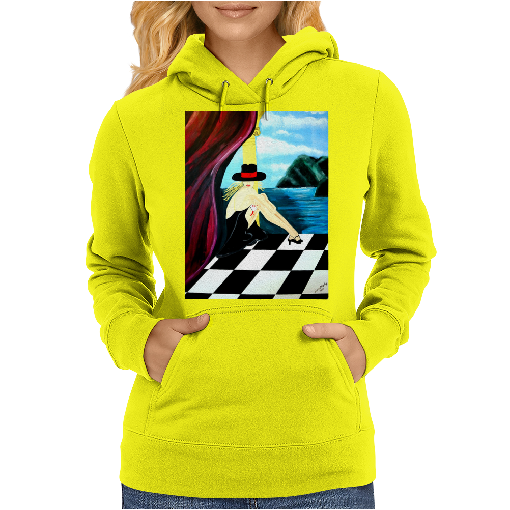 BAR SCENES  ONE Womens Hoodie