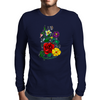 Beautiful flowers Mens Long Sleeve T-Shirt