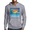 Beauty Sunset Beach Landscape Mens Hoodie