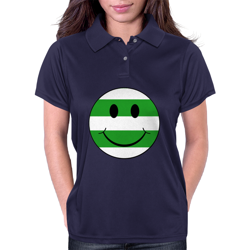 big smiley hoops Womens Polo