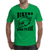Bikers - Born to Ride Mens T-Shirt
