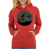 BLACK XMAS: Decorating the Christmas Tree by Rouble Rust Womens Hoodie