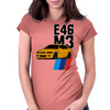 BMW E46 M3 Womens Fitted T-Shirt
