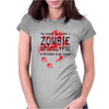 Zombie Apocalypse, Womens Fitted T-Shirt