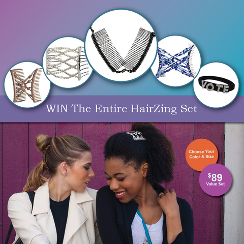 Win this Beautiful Hair Accessories Bundle from HairZing