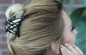 Grow Healthier Hair with HairZing Accessories No Damage for Fine Thin Hair or Natural Curly Hair