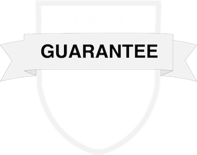 HairZing Happiness Guarantee