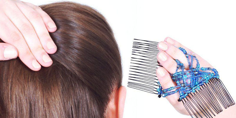 How to use a Double Comb - Step Two