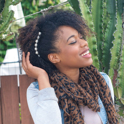 Hair Combs for Natural Coily Kinky Hair - Updos, Faux Hawks and Natrualista Hairstyles