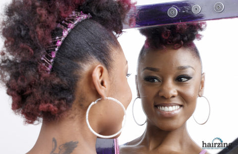 Natural Hair Protective Styles for Curly Hair