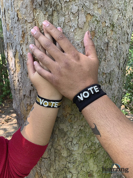 Vote Wristband for Couples