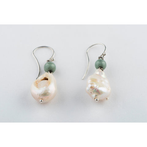 Freshwater Pearl Hook Earrings