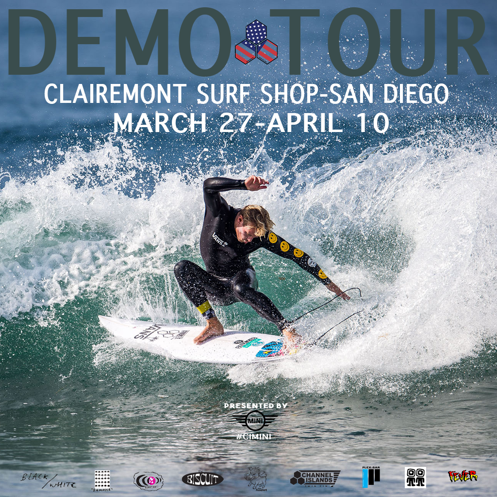 DEMO TOUR 2017 ~ Clairemont Surf Shop