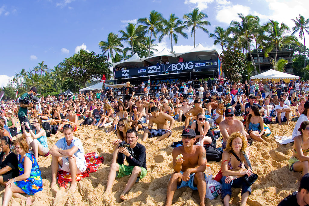 Sustainability at the Vans Triple Crown of Surfing