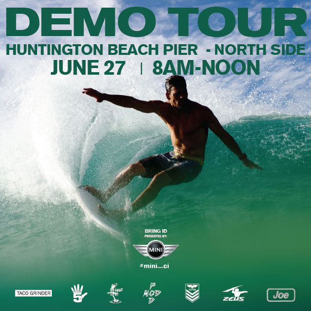 Demo Stop #7, Huntington Beach, CA