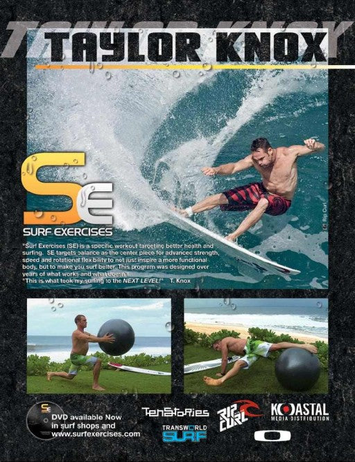 Surf Excercises with Taylor Knox