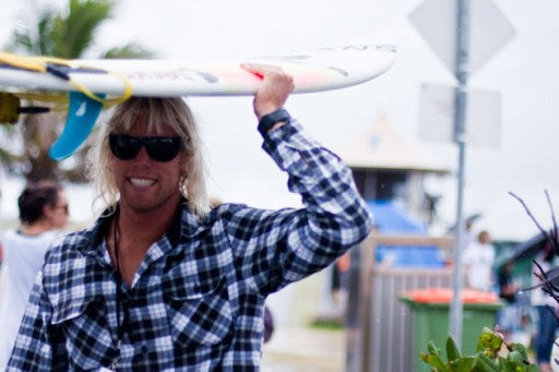 Dane Gudauskas turned out to support his bro's Tanner and Pat.
