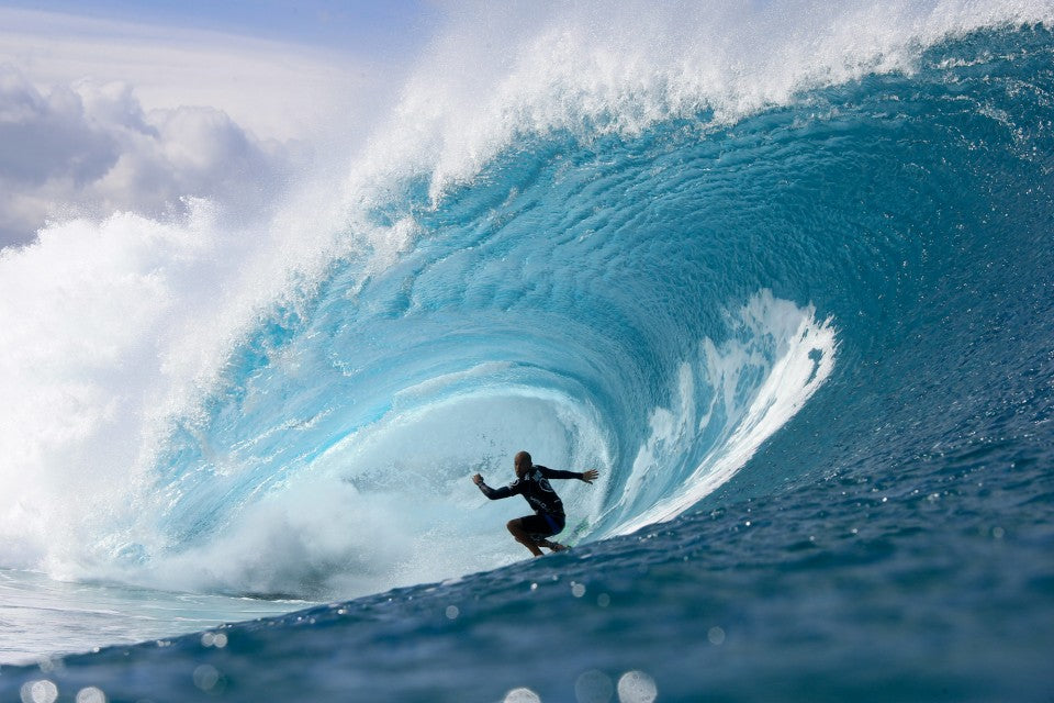 Kelly Slater's 10 point ride.