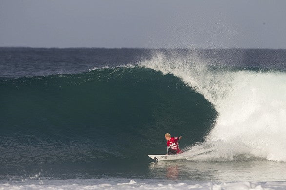 Nat Young, gaining momentum in the World Rankings at J-Bay. Photo: Frieden