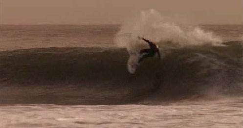Conner Coffin just off the jet video on Hurley