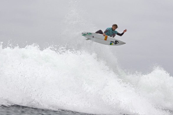 Dane Reynolds (USA), 26, earned the day's highest scores on his DFR while advancing through to the Quarterfinals of the ASP PRIME Nike Lowers Pro.