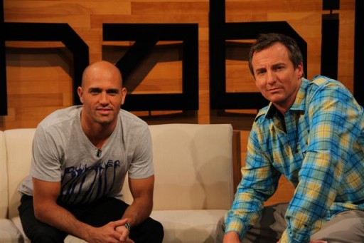 Kelly Slater and Pat Parnell