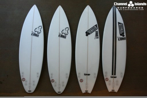 Kelly Slater's Quiver for the Hurley Lowers Pro 2010