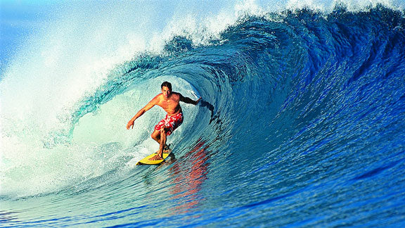 Kelly Slater in the 1990s. Photo: Tom Servais