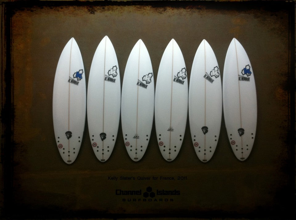 Kelly Slater's Quiver for France 2011 Bottoms