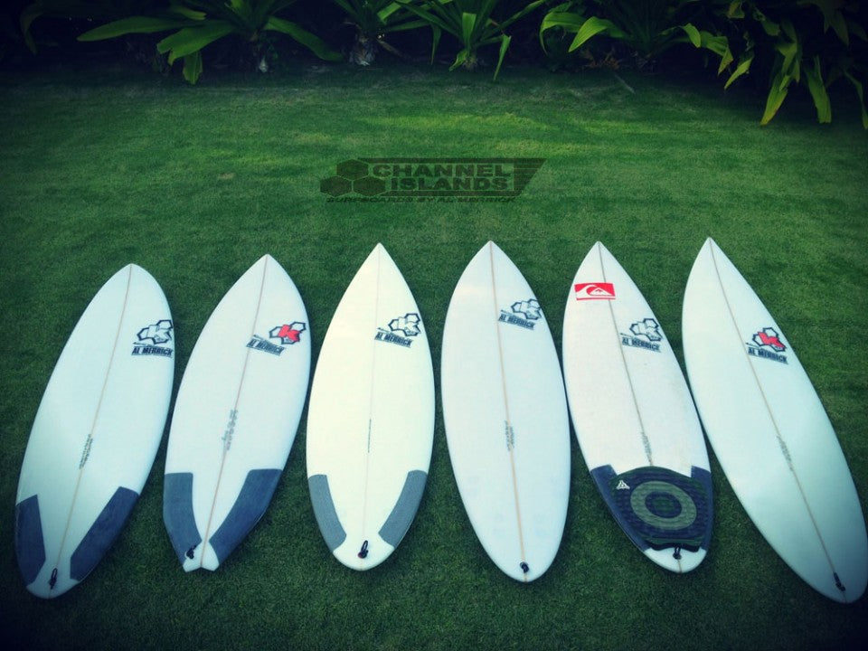 Kelly Slater's Quiver for Hawaii 2011 Decks