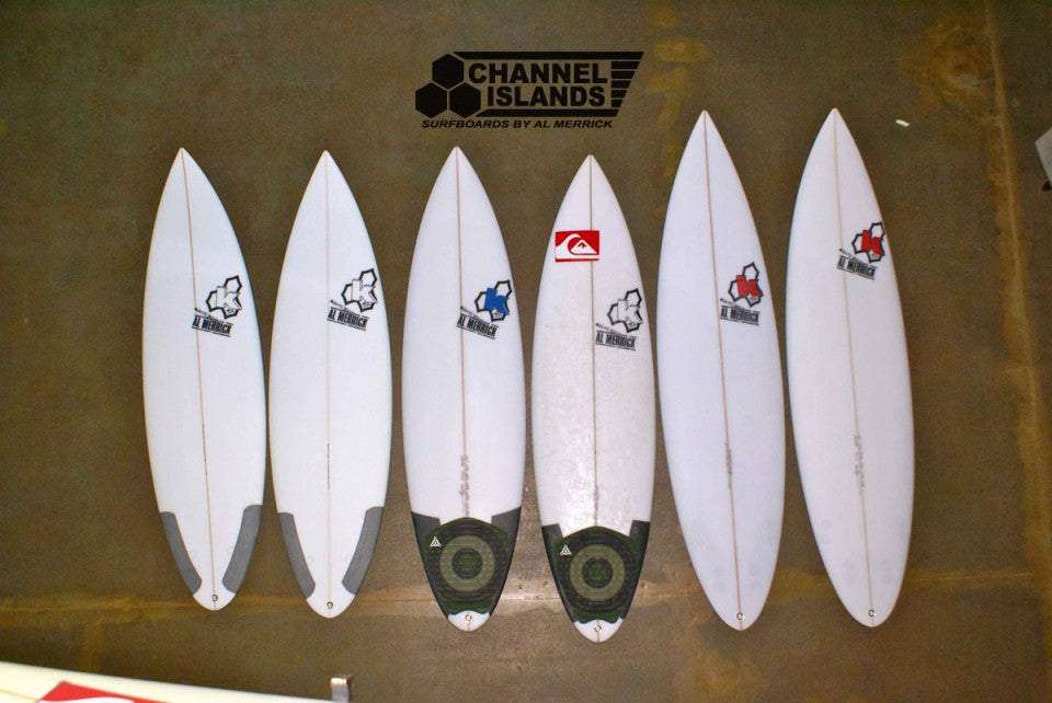 Kelly Slater's Quiver For the Rip Curl Pro Search San Francisco