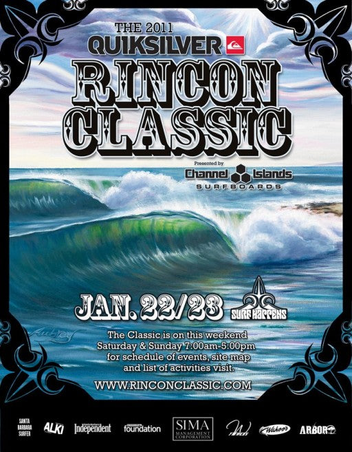 2011 Quiksilver Rincon Classic Presented by Channel Islands Surfboards